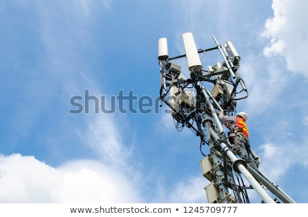 high telecommunications tower Stock photo © tracer