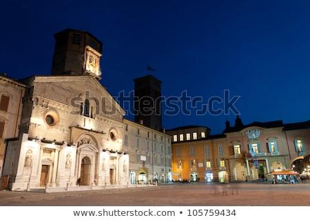 大聖堂 · 市 · ホール · 1泊 · 表示 · 北 - ストックフォト © eddygaleotti