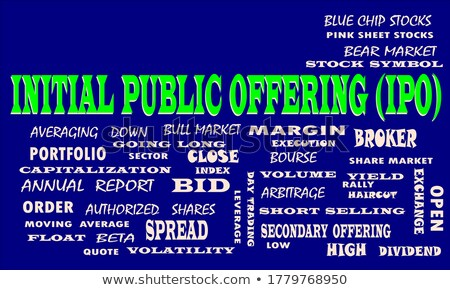 Public - Word in Blue Color on Volume  Puzzle. Stock photo © tashatuvango