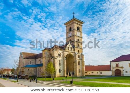 ortodox · katedrális · város · Romania · kék · ég · Európa - stock fotó © igabriela