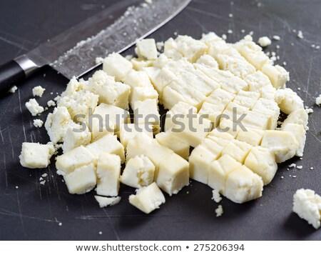 Chunks of Paneer cheese Stock photo © sumners
