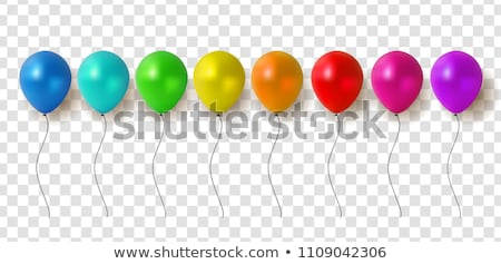 Isolated Colorful Balloons Collection Stock photo © make