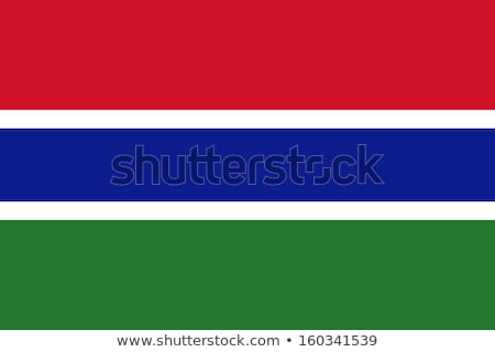 flag of republic of the gambia stock photo © istanbul2009