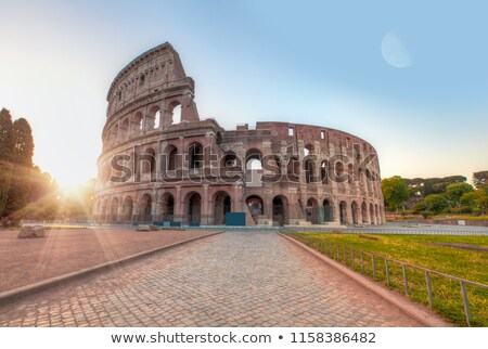 interior view of the ancient Colosseum in Rome, Italy Stock photo © vladacanon