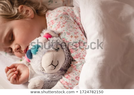 sweety on bed stock photo © dash