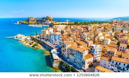 corfu town greece summer vacation stock photo © goce