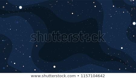 пространстве звезды небе ночь звездой облаке Сток-фото © SArts