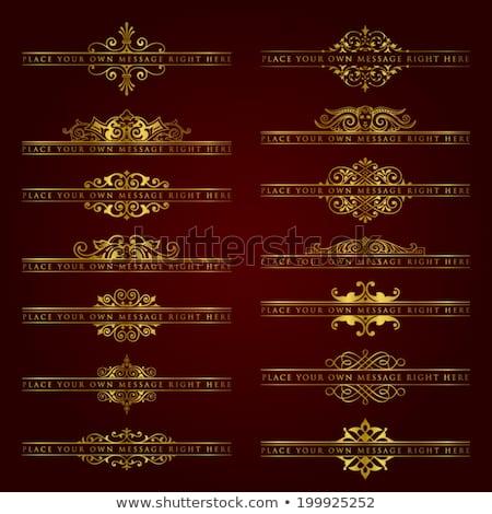 elegante · formale · invito · design · elementi · immagine - foto d'archivio © blue-pen