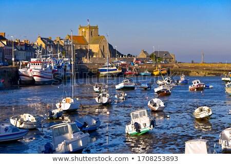 Normandia França edifício viajar barco arquitetura Foto stock © phbcz