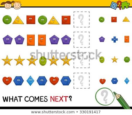 próximo · educativo · juego · ninos · desarrollo · lógica - foto stock © olena