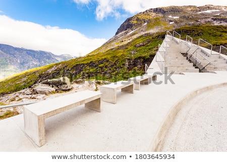 1 プラットフォーム 壮大な 表示 観光 ストックフォト © compuinfoto