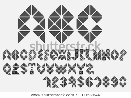 banner  types of triangles Stock photo © Olena