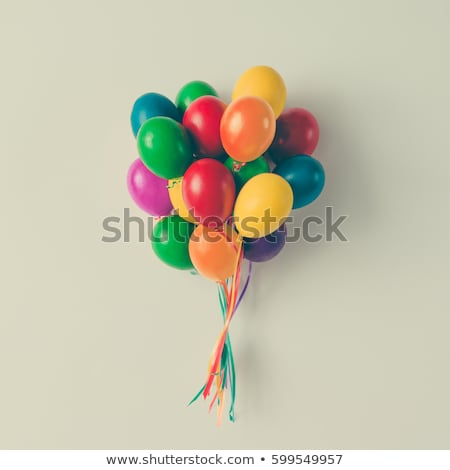 Abstract colorful ballon background Stock photo © manfredxy