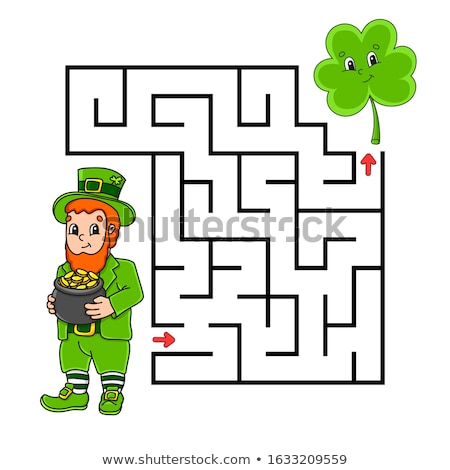 maze  what is pictured clover Stock photo © Olena