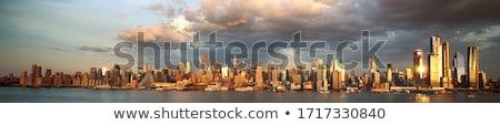 Nueva · York · Manhattan · Times · Square · horizonte · panorama - foto stock © vladacanon