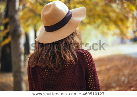 少女 · セーター · 立って · フィールド · 美 · 小麦 - ストックフォト © Alones