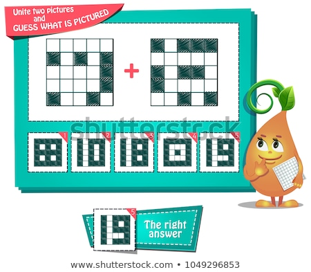educational game iq  two pictures  Stock photo © Olena