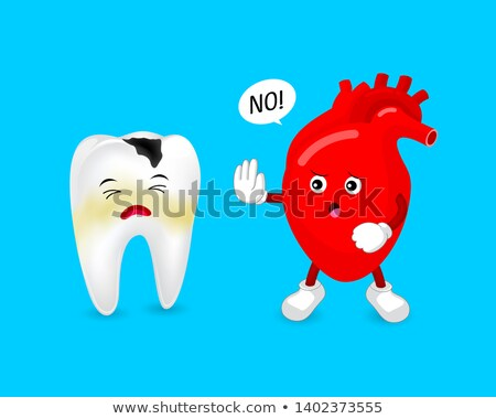 Oral Health And Heart Disease Stock photo © Lightsource