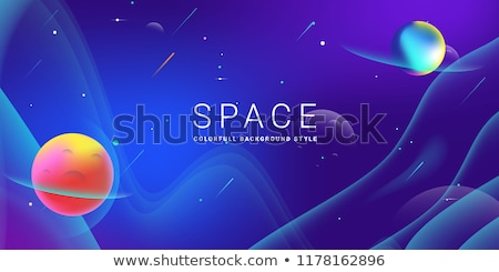 Stock photo: Starry outer space background texture. Science art.