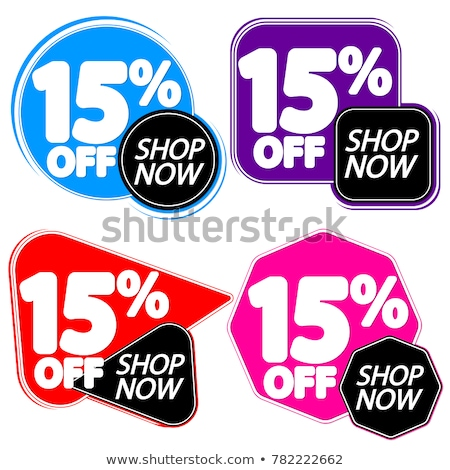 Sale Shop Now Collection Set of Covers Vector Stock photo © robuart