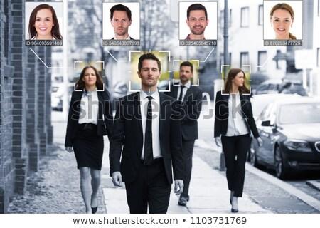 顔 認識 コンピュータ ビジョン 人工知能 ストックフォト © ra2studio
