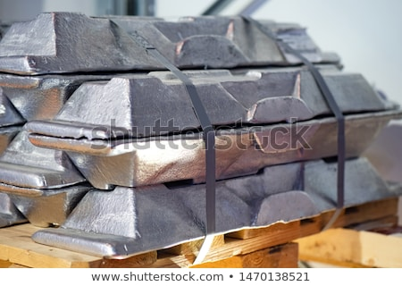 Worker transporting metal material from warehouse to production Stock photo © Kzenon