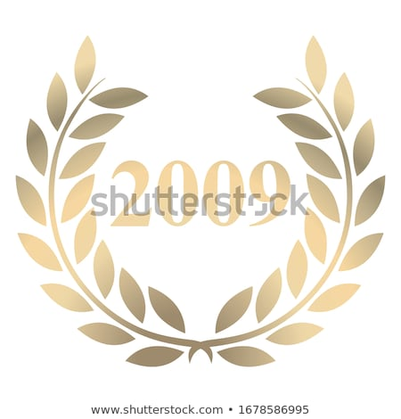 Stok fotoğraf: 2009 · ikon · yılbaşı · kırmızı · soyut · dizayn