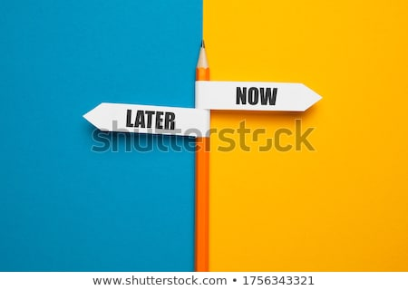now and later stock photo © bbbar