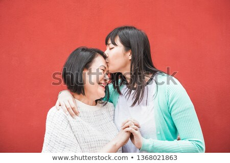 A sisterly embrace Stock photo © photography33