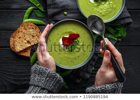 caldo verde , green soup Stock photo © ozaiachin