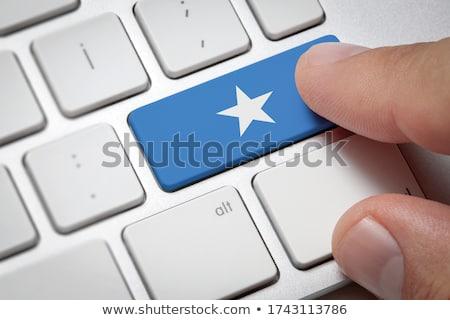 почты Сомали изображение штампа карта флаг Сток-фото © perysty