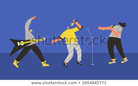 disco trio Stock photo © nicemonkey