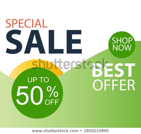 vector flayer design Stock photo © rioillustrator