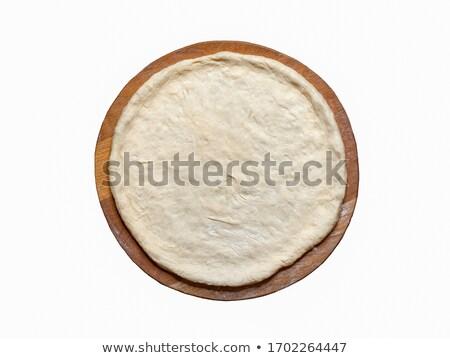 ruw · pizza · meel · witte · koken · vers - stockfoto © m-studio