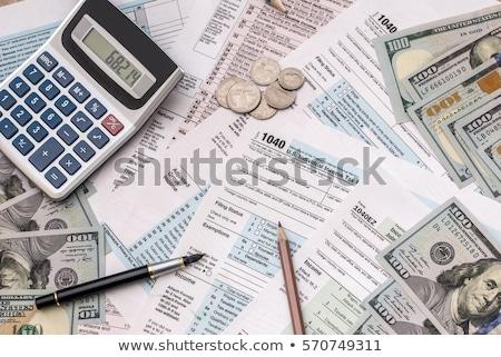 Vergi para vergi para dizayn detay Stok fotoğraf © jeremynathan