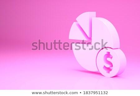 3D ビジネスグラフ 背景 金融 企業 市場 ストックフォト © designers