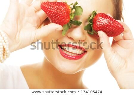 красивой · женщину · молодые · завода · аннотация - Сток-фото © nejron