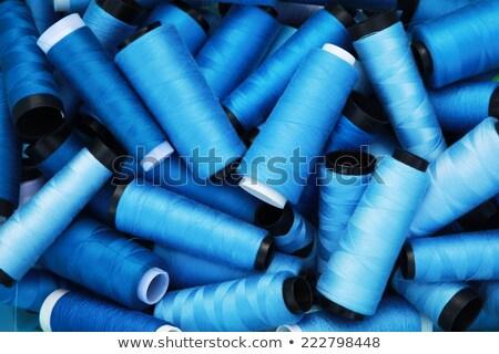 синий катушка потока изолированный белый текстуры Сток-фото © natika