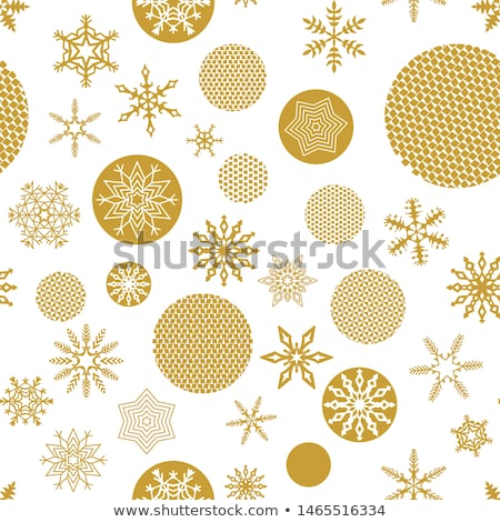 seamless pattern of flat gift packages christmas gifts stock photo © elenapro