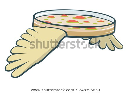 Flying petri dish Stock photo © Tawng