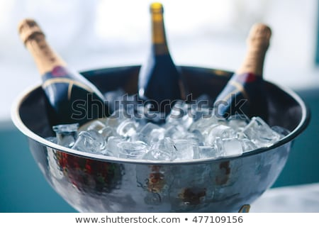 bottle of chilled champagne Stock photo © manera
