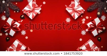Christmass frame Stock photo © ozaiachin