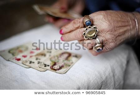Fortune teller forecasting the future Stock photo © wavebreak_media