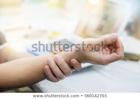 Işadamı bilek ağrı ofis Stok fotoğraf © wavebreak_media