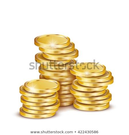 gold coin stack Stock photo © GeniusKp