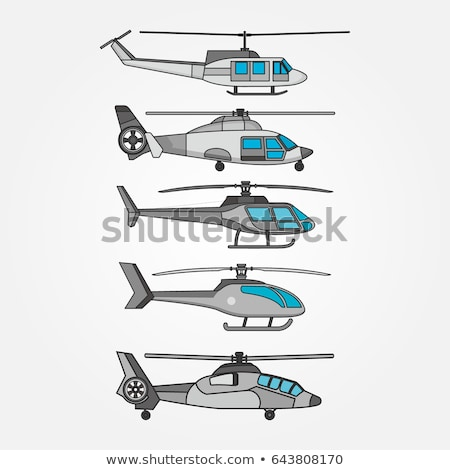 A chopper in the sky Stock photo © bluering