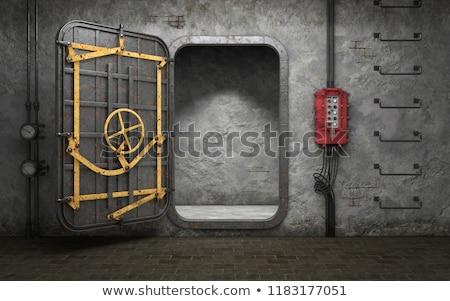 Használt spanyol polgárháború fal doboz háború Stock fotó © pedrosala