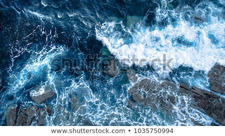 mavi · nehir · su · yüzeyi · doğa · dalgalar - stok fotoğraf © stevanovicigor
