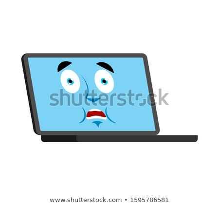 Laptop ijedt omg arc avatar számítógép Stock fotó © popaukropa