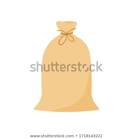 Canvas sack vector Stock photo © frescomovie